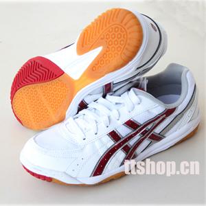 红色/爱世克私ASICS R20XQ0123高级乒乓球鞋 红色
