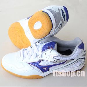 蓝色 美津浓/美津浓Y18KM25025 高级乒乓球鞋 蓝色