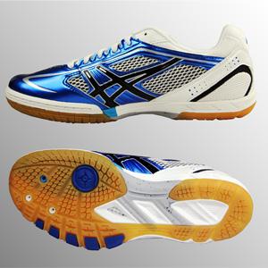 高端 绿色/爱世克私ASICS TPA/327/4201 高级乒乓球鞋